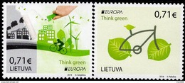 Lithuania - 2016 - Europa CEPT - Think Green - Mint Stamp Set - Lithuania
