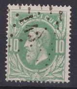 N° 30 LP  143 GEDINNE  COBA +10.00 - 1869-1883 Leopold II