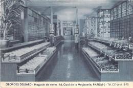 COMMERCE - MAGASINS -  PARIS 1er - Georges DELBARD Graines - Magasin De Vente 16 Quai De La Mégisserie - CPSM GF 1950 - Shops
