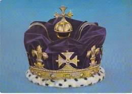 ** Lot De 2 Cartes ** FAMILLES ROYALES Couronnes Impériales - IMPERIAL STATE CROWN Et PRINCE OF WALES'S - Familles Royales