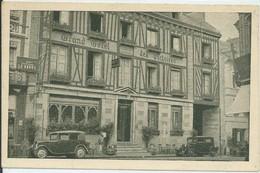 Yvetot-Grand Hôtel Des Victoires (Voir Tampon Verso: Daniel Lucas-21 Mars 1941-Bourg ?)-(SÉPIA) - Yvetot