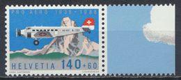 °°° SVIZZERA - Y&T N°49 PA - 1988 MNH °°° - Suisse