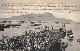 CAP VERT /  S Vicente - Desembarque Do Governador Marinha Do Campo - Cap Vert