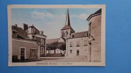 CPA  Maine Et Loire Sermaise La Place - France