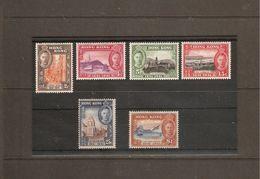 HONG KONG 1941 CENTENARY OF BRITISH OCCUPATION SET SG 163/168 MOUNTED MINT Cat £90 - Ungebraucht