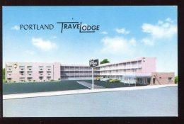 CPSM Neuve Etats Unis PORTLAND Motel TraveLodge - Portland