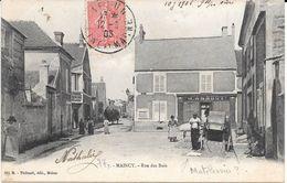 77 - MAINCY - 7 - Rue Des Bois - Animation Dont Matelassier ? - Circulé 1908 - Bon état - METIERS - - Other Municipalities