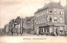 Middelkerke - L'Avenue Léopold II (animation, Patisserie Dégustation) - Middelkerke