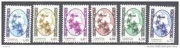 2006. Tajikistan, Definitives, Flowers, Cotton, 6v, Mint/** - Tadschikistan