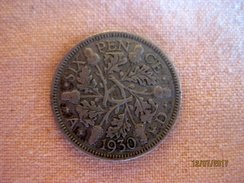 GB Six Pence 1930 - 1902-1971 : Post-Victorian Coins