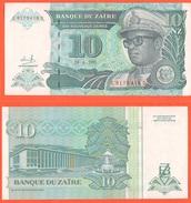 Zaire 10 Nuovi Zaires 1993 - Zaire