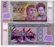 PARAGUAY       2000 Guaraníes      P-228b      2009     UNC - Paraguay