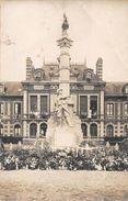 Monville Montville Carte Photo Monument Aux Morts Canton Clères - France