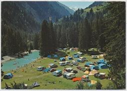 1983 - Disentis Graubünden Campingplatz Fontanivas - GR Grisons