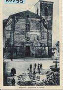 Marche-macerata-cingoli Veduta Piazza Cattedrale Animata Primi 900 - Italia