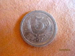 5 Centimes Chambre De Commerce De L'Hérault 1921 - 1924 - Monétaires / De Nécessité
