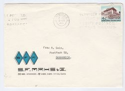 1972 SOUTH WEST AFRICA Illus ADVERT COVER Stamps - South West Africa (1923-1990)