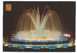 Barcellona, Fontana Monumentale Di Montjuic. 1992 - Barcelona