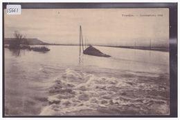 DISTRICT D'YVERDON - YVERDON - INONDATIONS DE 1910 - CARTE NON CIRCULEE - TB - VD Vaud
