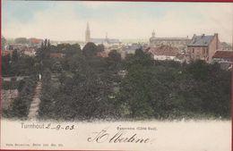 Turnhout  Panorama Cote Sud 1903 INGEKLEURD (in Zeer Goede Staat) - Turnhout