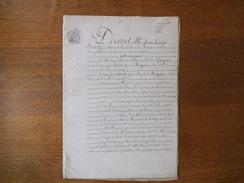 20 OCTOBRE 1850 REMIREMONT PARTAGE ENTRE Mme MARIE GASPARD VEUVE DE CHARLES ROGUIER ET M. CHARLES ROGUIER ORFEVRE - Manuscripts
