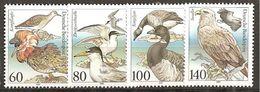 *BRD 1991 // Michel 1539/1542 ** (c969) - Albatrosse & Sturmvögel