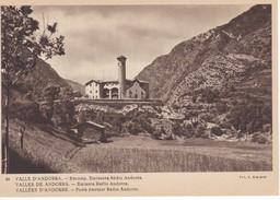 POSTAL DE ANDORRA DE ENCAMP. EMISORA DE RADIO ANDORRA (VALENTI CLAVEROL) - Andorra