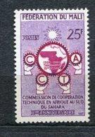 3349   MALI  Fédération  N° 9**  1960    SUPERBE - Malí (1959-...)