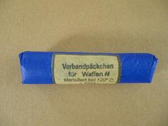 Compresse Allemande Verbandpackchen Für Waffen Daté 1943 - Equipaggiamento