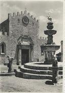 Taormina  - Fontana Del Duomo. Used 1958   Italy.  # 06722 - Italy