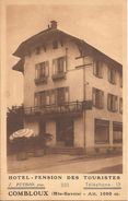 HOTEL PENSION DES TOURISTES COMBLOUX - Combloux