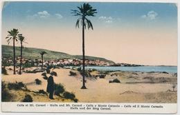 Palestine - Haifa And Mt. Carmel - Gelaufen 10. Oktober 1934 - Cartes Postales