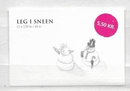 2009 MNH Danmark, Booklet S182  Postfris - Boekjes