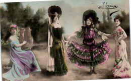 Femme - Danse - Spectacle - Photographe Reutlinger - Danse