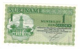 Suriname 1 Gulden 1974, UNC. - Surinam