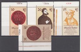 Allemagne DDR 1982  Mi.nr.: 2754-2757 Geburtstag Von Martin Luther Neuf Sans Charniere /MNH / Postfris - [6] République Démocratique