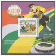 0549 Comores 2010 Voetbal Soccer German Player Mirroslov Klose Nelson Mandela S/S MNH - Wereldkampioenschap