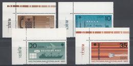 Allemagne DDR 1983  Mi.nr.: 2770-2773 Weltkommunikationsjahr Neuf Sans Charniere /MNH / Postfris - Ungebraucht