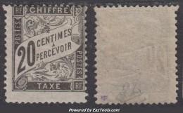 *RARE* 20c Duval Neuf  * TB Certificat CALVES  (Y&T N° 17 ,  Cote: 500€) - 1859-1955.. Ungebraucht