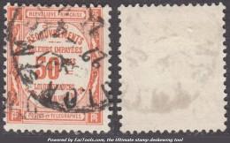 50c Recouvrement Oblitéré TB (Y&T N° 47, Cote: 70€) - 1859-1955 Used
