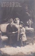 AK Familie Mit Bub In Uniform - O Könnte Dich Der Vater Sehen... - Patriotika - 1916 (29569) - Frauen