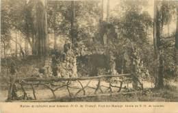 FAYT-lez-MANAGE - Maison De Retraites Pour Hommes N-D. Du Travail - Grotte De N.-D. De Lourdes - Manage