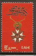 Timbre N°3490 Bicentenaire De La Légion D'Honneur De 2002 Neuf** - France