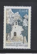 2002 - TIMBRE NEUF - Chapelle De Saint-Ser (Bouches-du-Rhône) - N° YT : 3496 - France