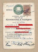Licença Para Uso De Isqueiro License Use A Lighter Licence  Utilisation De Briquet Licencia Para Uso De Encendedor - Documents