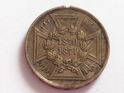 Medalla Cruz De Hierro. Alemania. 1870-1871 - Medailles & Militaire Decoraties