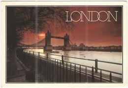 GB - Regno Unito - GREAT BRITAIN - 1985 - 22p + Flamme 350 Years Of Service - Tower Bridge At Dawn - Viaggiata Da Thanet - London