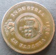 Münze Großbritannien 1811 - Token One Penny Bristol & Southwales  Kupfer Ss - Ohne Zuordnung