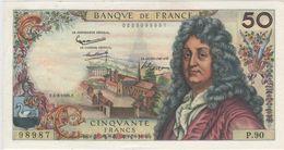 50 FRANCS RACINE DU 4.3.1965. SPL A NEUF.DATE DIFFICILE A TROUVER DANS CET ETAT. - 1962-1997 ''Francs''