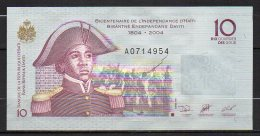 518-Haiti Billet De 10 Gourdes 2004 A071 Neuf - Haïti
